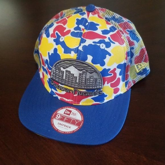 quality design 22e63 5ab26 ... reduced new era denver nuggets snapback 06f9c dd758